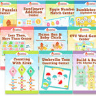 Big Bundle of Springtime Centers - 10 in Total