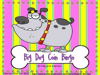 Big Dog Coin Bingo