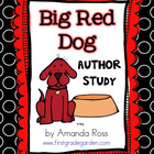 Big Red Dog Author Study Pack