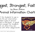 Biggest, Strongest, Fastest, by S. Jenkins, Animal Info Ch