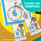 Bike On - Teach the Counting-On Strategy for Addition