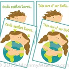 Bilingual Earth-Friendly Note Cards