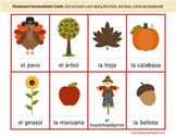 Bilingual Fall Activity Pack