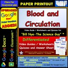 Bill Nye - Blood and Circulation – Worksheet, Answer She