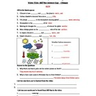 Bill Nye - Climate. Video worksheet: Fun + Knowledge!
