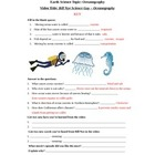 Bill Nye - Oceanography. Classwork Video Review Worksheet