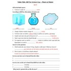 Bill Nye - Phases of Matter. Video worksheet: Fun + Knowledge!