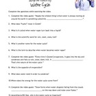 Bill Nye - WATER CYCLE guidesheet