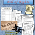 Bill Of Rights Tableau/Skit Activity Very FUN!!!