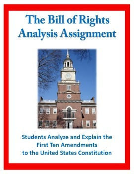 Analyze U.S. Amendments (Bill of Rights) Assignment - Cons