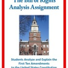 Bill of Rights Assignment / Analyze Amendments / Constitution