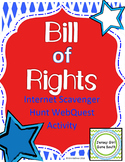 Bill of Rights Internet Scavenger Hunt WebQuest Activity