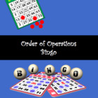 Bingo Order of operations