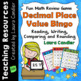 Bingo Showdown: Decimal Place Value Review