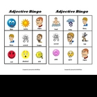 Bingo With Adjectives