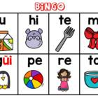 Bingo de las silabas