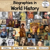Biographies in World History