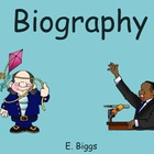 Biography &amp; Autobiography - Smartboard Lesson