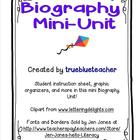 Biography Mini-Unit