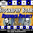 Biography Project Research Packet 7 Activities Famous Pers