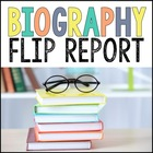 Biography Report Flip Book