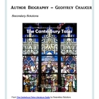 Biography and Questions on Geoffrey Chaucer