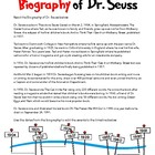 Biography of Dr. Seuss