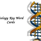 Biology Key Word Flash Cards