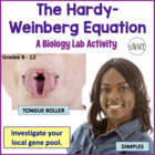 Biology Lab: The Hardy Weinberg Equation (Population Genetics)