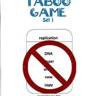 Biology Taboo Game Set 1