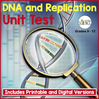 Biology Test:  DNA and Replication