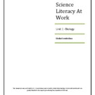 Biology Workbook