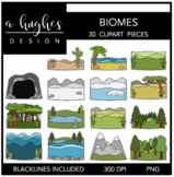 Biomes {Graphics for Commercial Use}