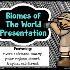 Biomes of the World Presentation - PDF version of PPT