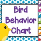 Bird Behavior Chart