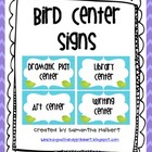 Bird Center Signs