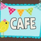 Birdies &amp; Bunting CAFE Signs
