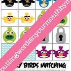 Birds Vs. Pigs Matching