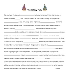 Birthday Madlibs