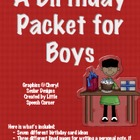 Birthday Packet for Boys