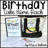 Birthday Take Home Pack