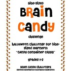 Bite-Sized Brain Candy Halloween Challenge