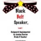 Black Belt Speaker Level 1 Book