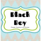 Black Boy Chapter Quizzes--All--With Answer Key