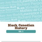 Black Canadian History (ESL 1)