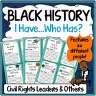 Black History Month: Civil Rights Leaders and Others