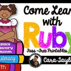 Black History Month~ Come Learn with Ruby Bridges Fuss-Fre