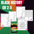 Black History Month Flag {FREE}