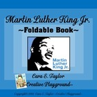 Black History Month~ Free Martin Luther King Foldable Book