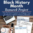 Black History Month Research Essay and Poster Project